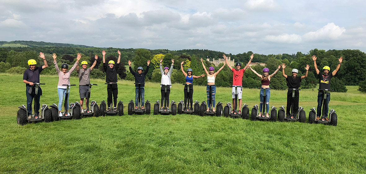 Segway Tours at Leeds Castle